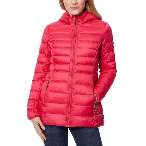売店 32ディグリー レディース アウター コート Jazzy 全商品無料サイズ交換 Packable Coat Created Down 贈答 for Hooded Puffer Macy's