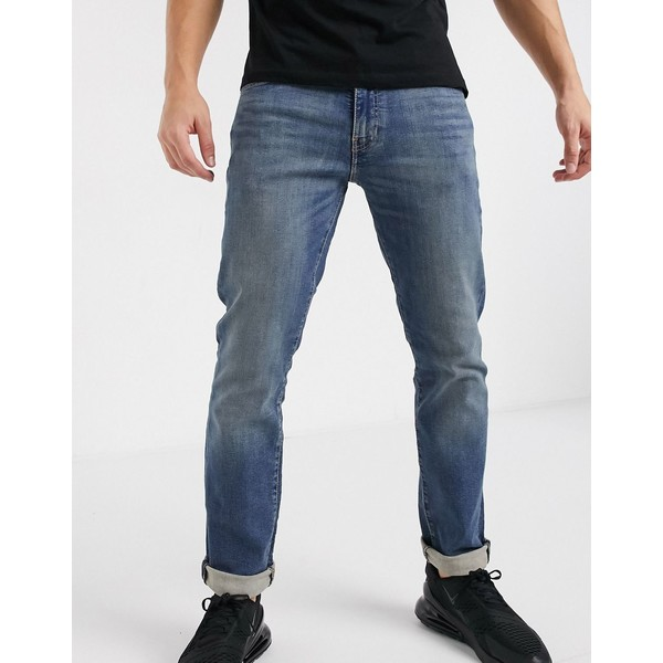 リーバイス メンズ デニムパンツ ボトムス Levi's 511 slim fit jeans in Orinda advanced mid wash Orinda adv