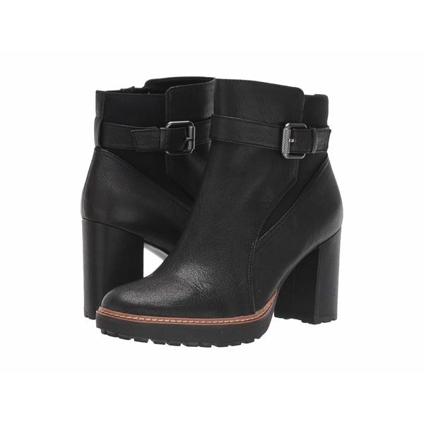 ナチュライザー レディース ブーツ&レインブーツ シューズ Cora Black Tumbled Leather