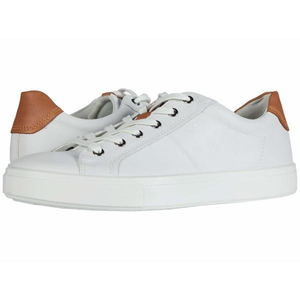 エコー メンズ スニーカー シューズ Kyle Classic Sneaker White/Lion Cow Leather/Cow Nubuck
