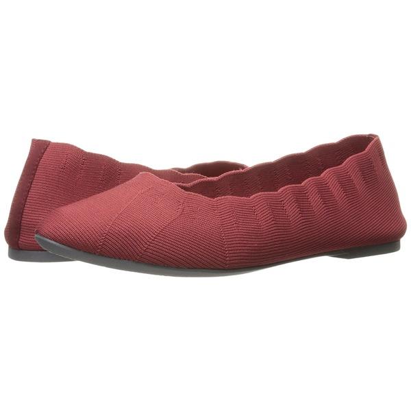 スケッチャーズ レディース サンダル シューズ Cleo Bewitched - Engineered Knit Skimmer Red