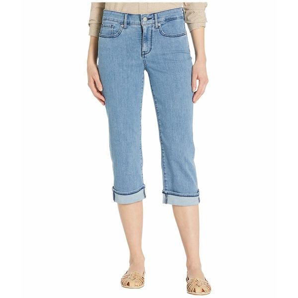 エヌワイディージェイ レディース デニムパンツ ボトムス Marilyn Crop Cuff Jeans in Delray Delray