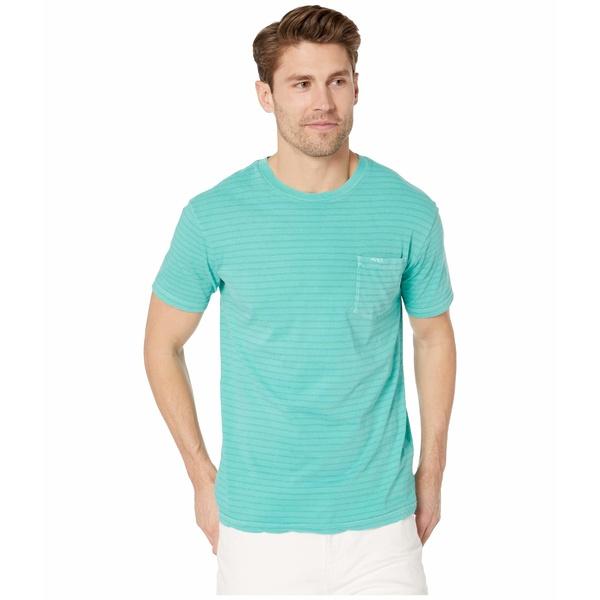 ルーカ メンズ シャツ トップス PTC Stripe Short Sleeve Bermuda Blue