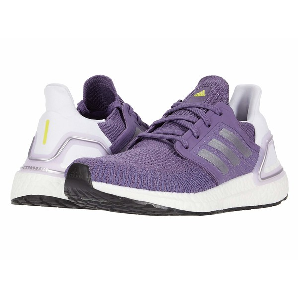 アディダス レディース スニーカー シューズ Ultraboost 20 Tech Purple/Silver Metallic/Footwear White