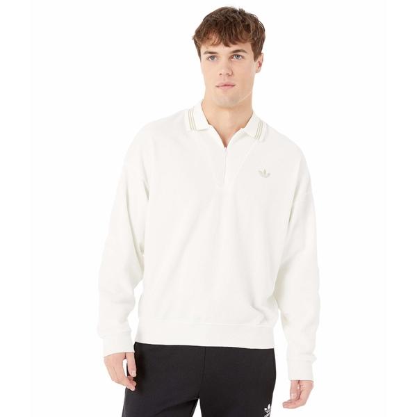 アディダス メンズ シャツ トップス Bouclette Shirt Off-White/Savannah