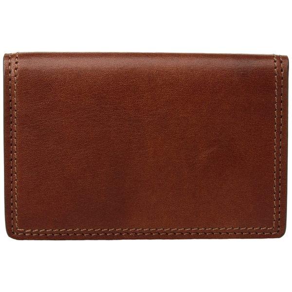 ボスカ メンズ 財布 アクセサリー Dolce Collection - Full Gusset Two-Pocket Card Case w/ I.D. Amber