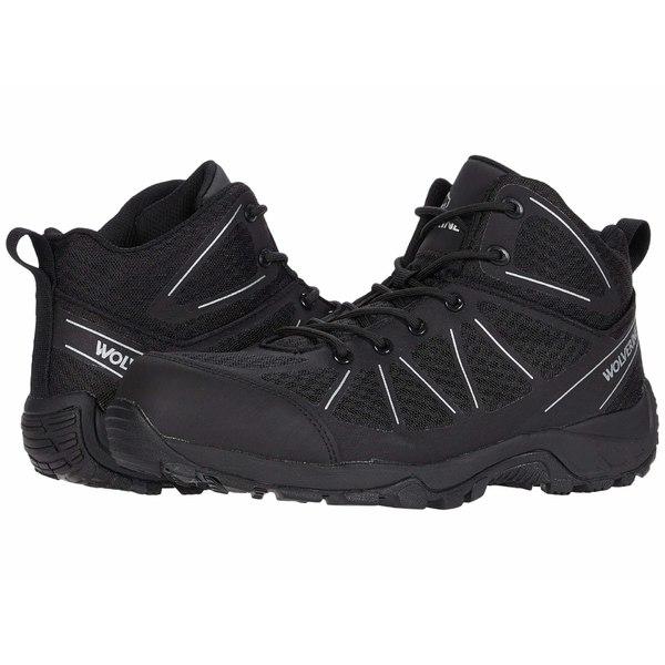 ウルヴァリン メンズ ブーツ&レインブーツ シューズ Amherst II CarbonMAX Work Boot Black