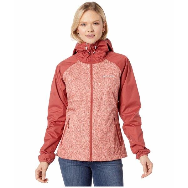 コロンビア レディース コート アウター Ulica Jacket Dusty Crimson/Cedar Blush Ferny Ferns Print