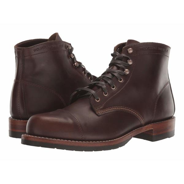 ウルバリン メンズ ブーツ&レインブーツ シューズ 1000 Mile Cap-Toe Boot Havana Brown
