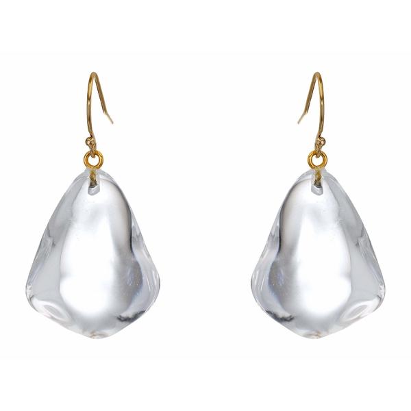 アレクシス ビッター レディース ピアス&イヤリング アクセサリー Pebble Wire Earrings Clear
