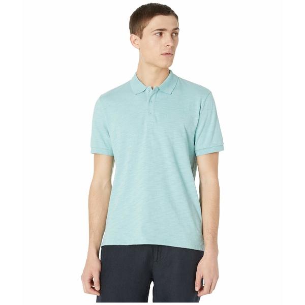ヴィンス メンズ シャツ トップス Classic Polo Shirt Bay Blue