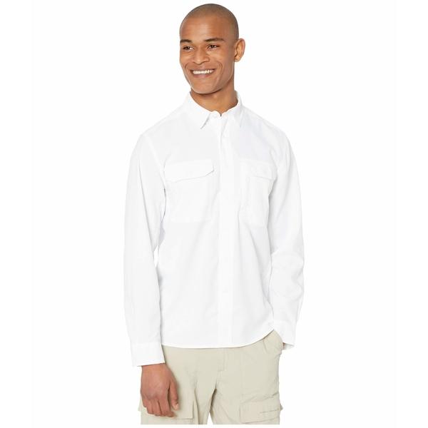 ロイヤルロビンズ メンズ シャツ トップス Global Expedition Long Sleeve Shirt White
