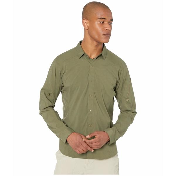 アークテリクス メンズ シャツ トップス Elaho Long Sleeve Shirt Arbour