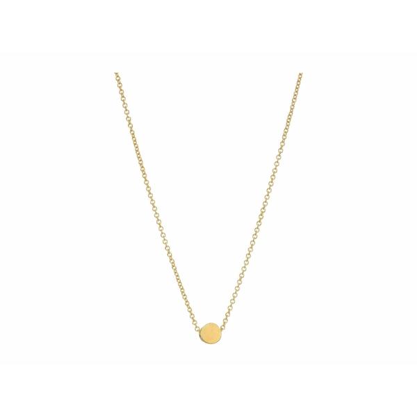 ドジャード レディース ネックレス・チョーカー・ペンダントトップ アクセサリー Circle Necklace Gold-Dipped