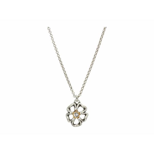 ブライトン レディース ネックレス・チョーカー・ペンダントトップ アクセサリー Lux Garden Short Necklace Silver/Gold