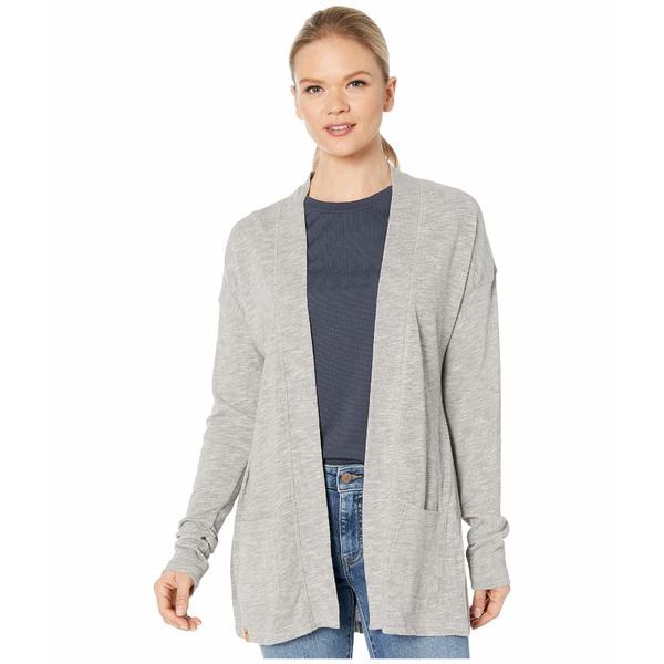 テンツリー レディース ニット&セーター アウター Alouette Long Sleeve Cardigan High-Rise Grey Marled