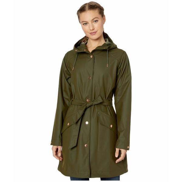 ヘリーハンセン レディース コート アウター Kirkwall II Raincoat Forest Night