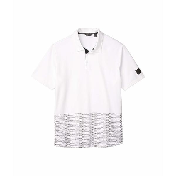 アディダス メンズ シャツ トップス Adicross Novelty Print Polo Shirt White