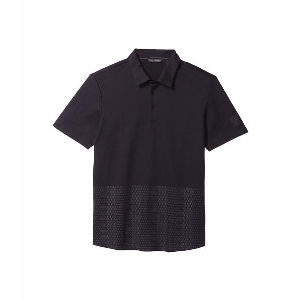 アディダス メンズ シャツ トップス Adicross Novelty Print Polo Shirt Black/Carbon