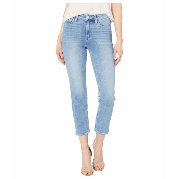 ペイジ レディース デニムパンツ ボトムス Hoxton Slim Crop w/ Linear Coin Pocket Jeans in Lo-Fi Distressed Lo-Fi Distressed