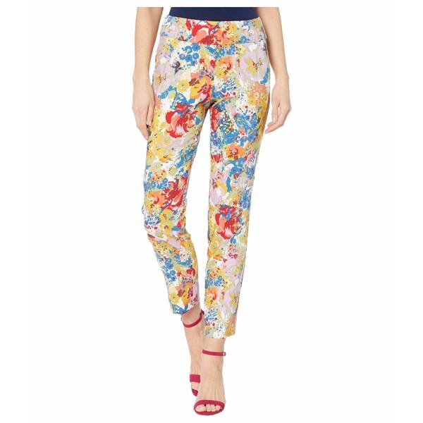 クレイジーラリー レディース カジュアルパンツ ボトムス Pull-On Ankle Pants Floral 1