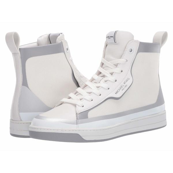 マイケルコース メンズ スニーカー シューズ Keating High Top Optic White/Silver