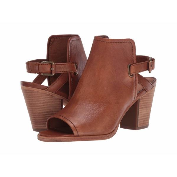 フライ レディース ヒール シューズ Dani Shield Sling Tan Sun-Washed Leather