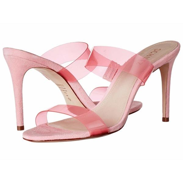 シュッツ レディース ヒール シューズ Ariella 2 Rose Pink Vinil/Deluxe Suede