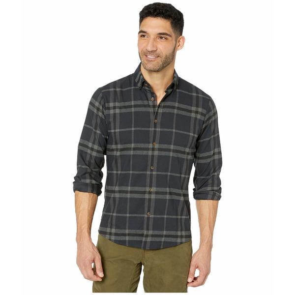 ミゼンプラスメイン メンズ シャツ トップス Proctor Performance Flannel Shirt Navy