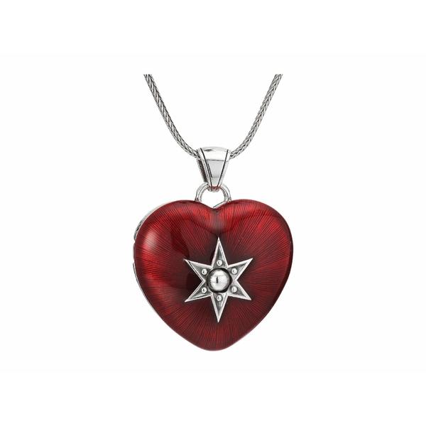 ブライトン レディース ネックレス・チョーカー・ペンダントトップ アクセサリー Loving Heart Convertible Locket Necklace Red