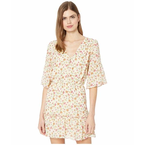 ロストアンドウォーター レディース ワンピース トップス Love in Bloom Mini Dress Ivory Floral