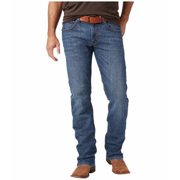 ラングラー メンズ デニムパンツ ボトムス Rock 47 Slim Straight Jeans Duet