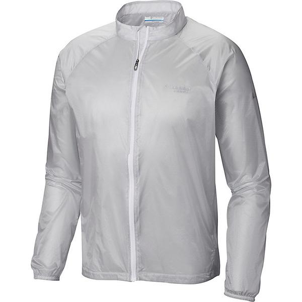 コロンビア メンズ ジャケット&ブルゾン アウター Columbia Men's F.K.T. Wind Jacket Cool Grey Embossed Print / White Zip