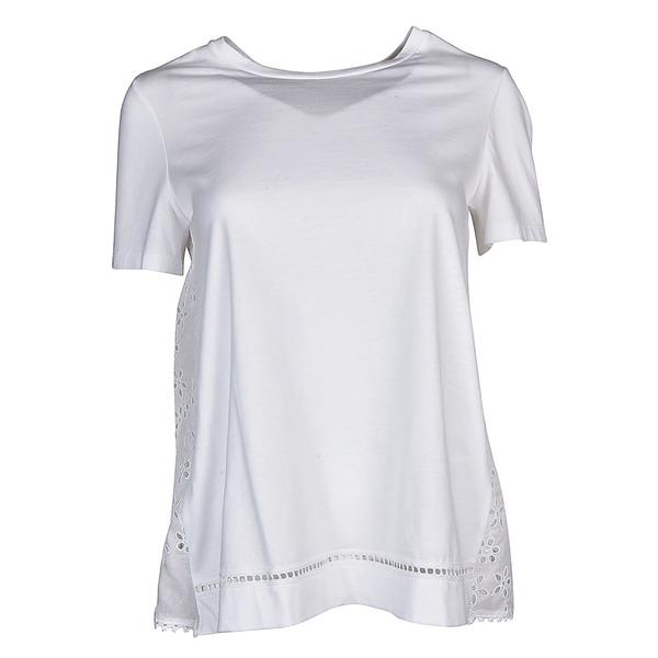 エルマンノ シェルヴィーノ レディース シャツ トップス Ermanno Scervino Lace Shirt White