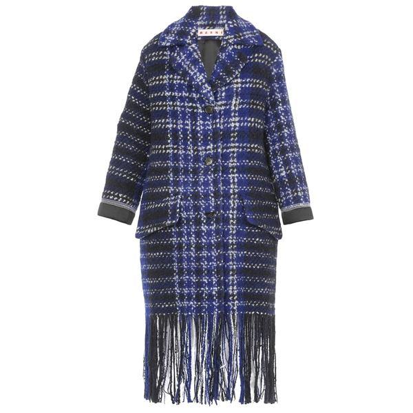 マルニ レディース ジャケット&ブルゾン アウター Marni Queen Size Coat BLUE