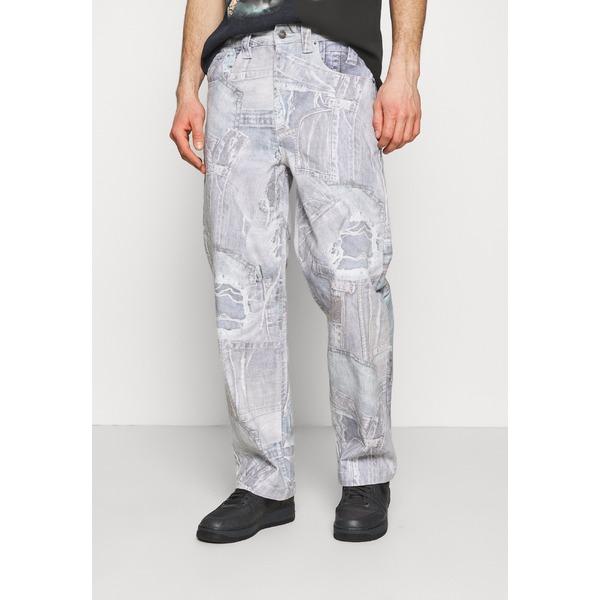 ジェーデッド メンズ ボトムス 永遠の定番 デニムパンツ blue 新品未使用正規品 全商品無料サイズ交換 REALISTIC qajy0096 jeans fit Relaxed PRINT -