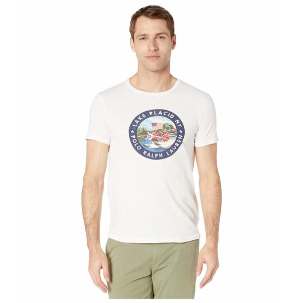 ラルフローレン メンズ シャツ トップス Custom Slim Graphic T-Shirt Classic Oxford White