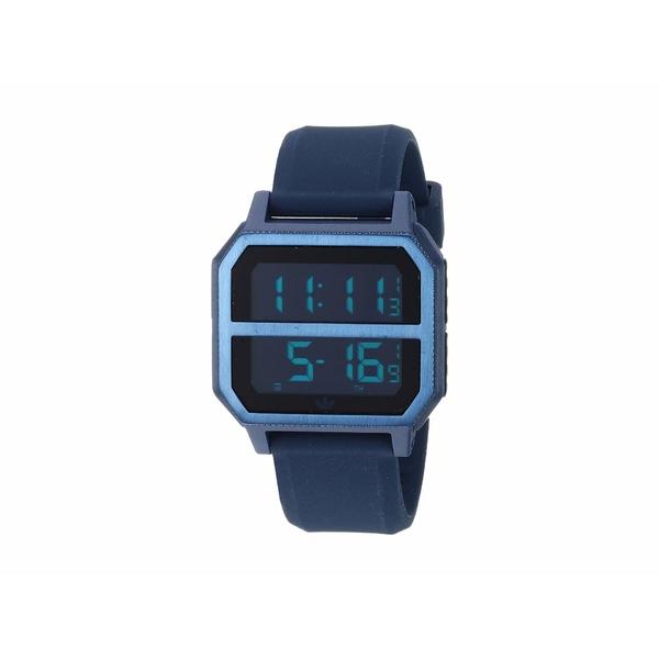 アディダス メンズ 腕時計 アクセサリー Archive_R2 All Navy