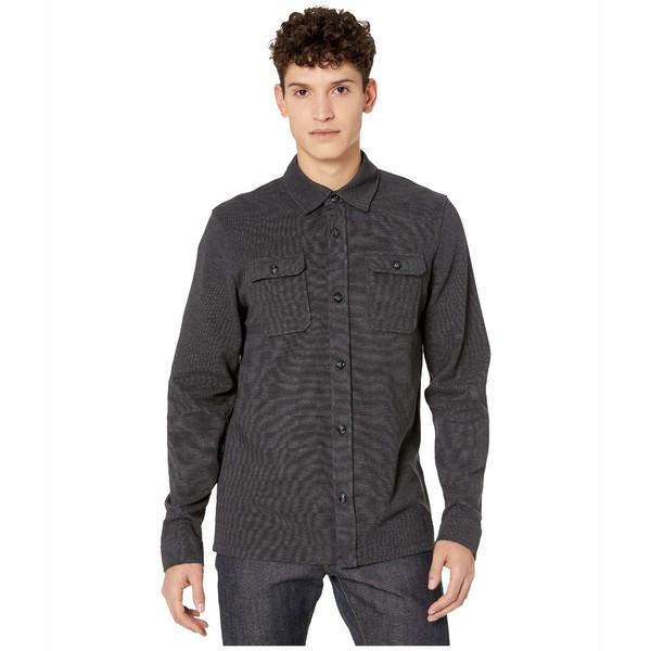 テッドベーカー メンズ シャツ トップス Liftoff Long Sleeve Jersey Shirt Charcoal