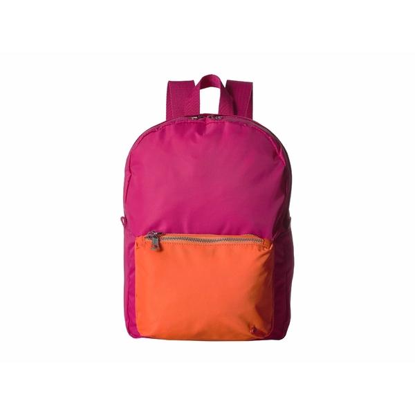 ステイトバッグス レディース バックパック・リュックサック バッグ Mini Lorimer Blossom/Orange