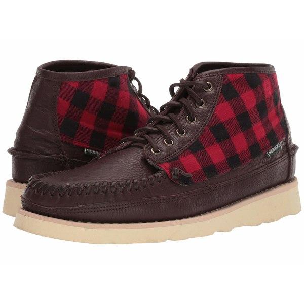 セバゴ メンズ ブーツ&レインブーツ シューズ Seneca Mid Wool Dark Brown