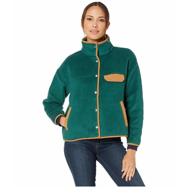 ノースフェイス レディース コート アウター Cragmont Fleece Jacket Ponderosa Green/Cedar Brown