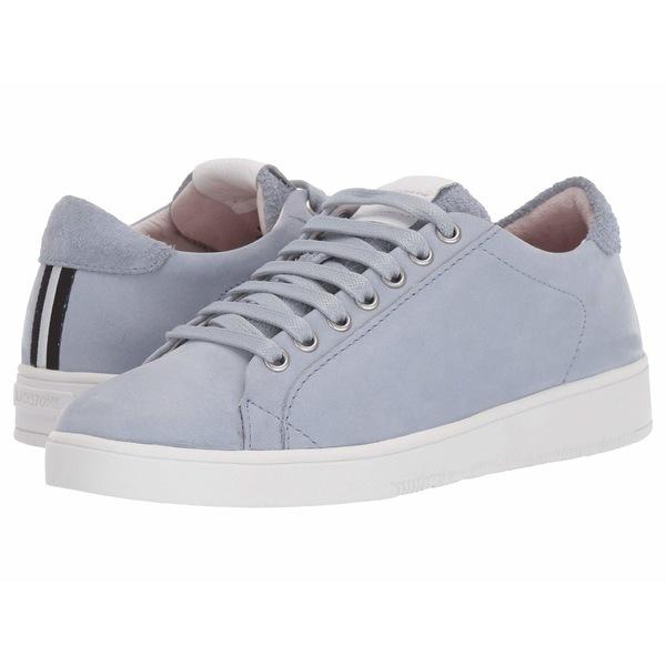 ブラックストーン レディース スニーカー シューズ Low Sneaker Suede - RL85 Cambray Blue