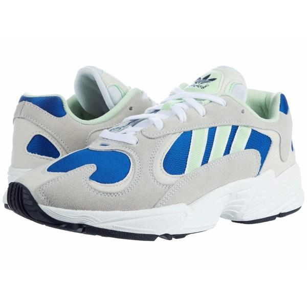 アディダスオリジナルス メンズ スニーカー シューズ Yung-1 Footwear White/Glow Green/Collegiate Royal