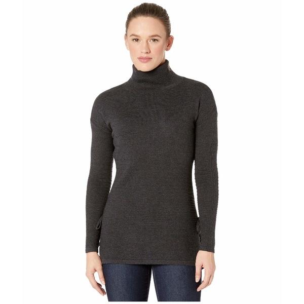 スマートウール レディース ニット&セーター アウター Spruce Creek Tunic Sweater Charcoal Heather