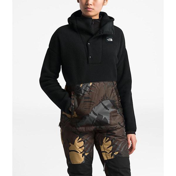 ノースフェイス レディース ジャケット&ブルゾン アウター The North Face Women's Riit Pullover TNF Black / New Taupe Green Palms Print