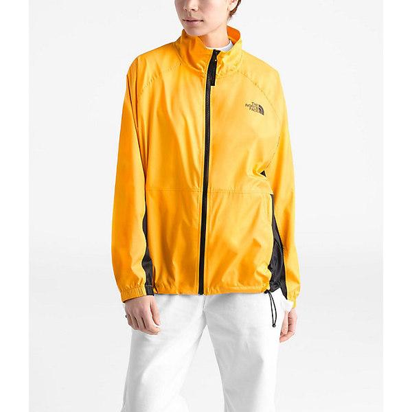 ノースフェイス レディース ジャケット&ブルゾン アウター The North Face Women's NSE Graphic Wind Jacket TNF Yellow / TNF Black