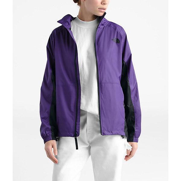 ノースフェイス レディース ジャケット&ブルゾン アウター The North Face Women's NSE Graphic Wind Jacket Hero Purple / TNF Black