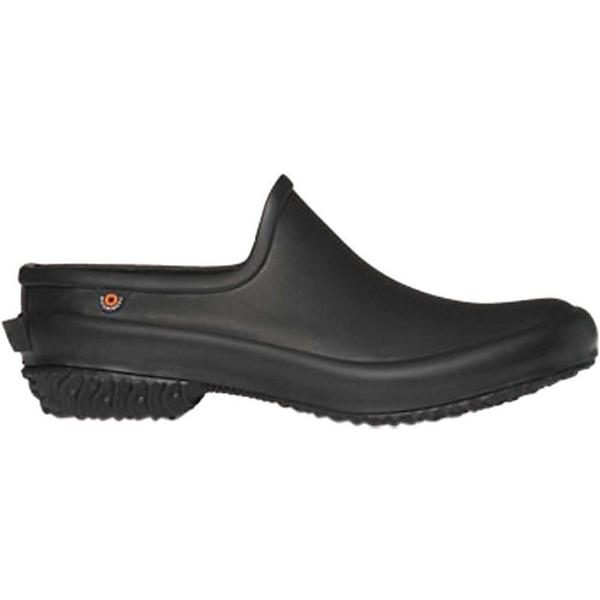 ボグス レディース スニーカー シューズ Bogs Women's Patch Clog Solid Shoe Black