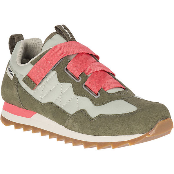 メレル レディース スニーカー シューズ Merrell Women's Alpine Sneaker Cross Shoe Sage / Olive